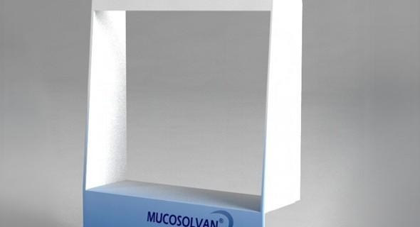 Изготовление диспенсера для компании Mucosolvan