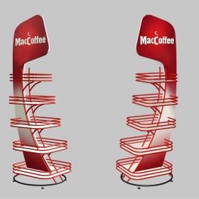 Разработка рекламной стойки для McCoffee