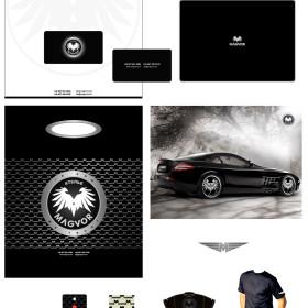 Дизайн фирменного стиля для компании Magvor