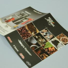 Изготовление и дизайн буклета для компании Люберти Украина