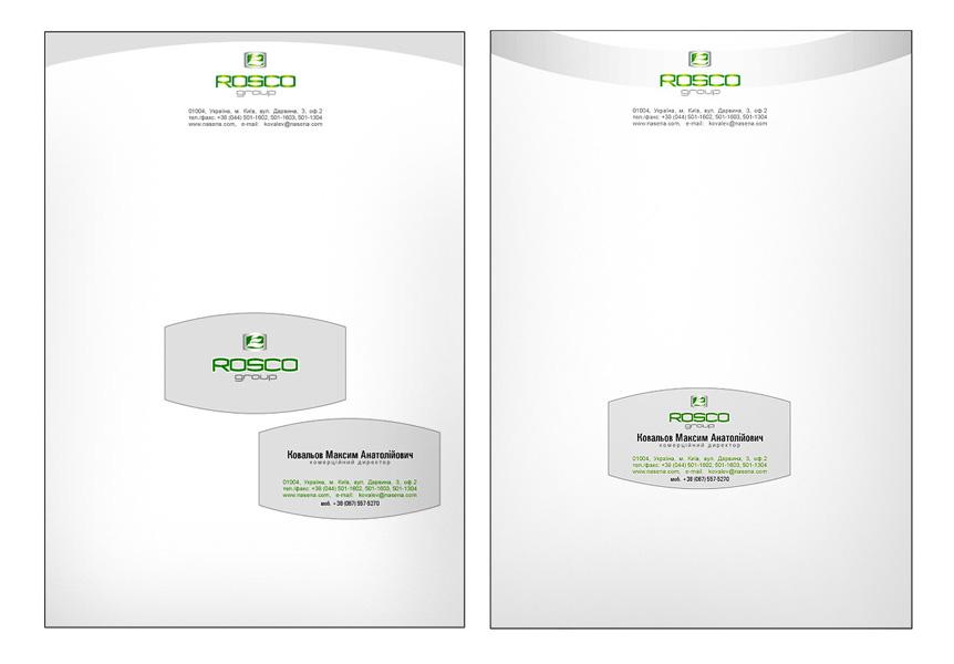Создание фирменного стиля для компании Rosco