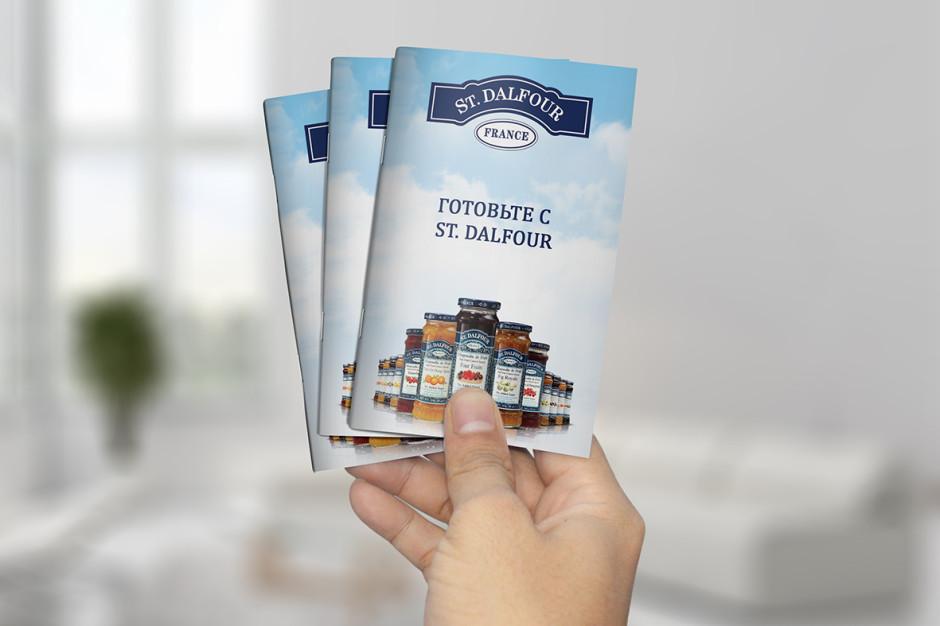 Дизайн и разработка буклета для компании United Foods